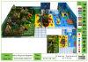 Kaiqi Large Forest Series Combinação Indoor Soft Play Children's Playground com navio pirata (KQ20140404-TQBZ472A)