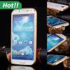 Ultra-Thin de aluminio Metal Caso Bumper Cover Skin para Samsung Galaxy S4 S5 S6