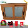 Woodgrain 색깔을%s 가진 PVC 태풍 충격 미끄러지는 Windows