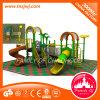 Equipamento ao ar livre plástico do campo de jogos do divertimento das crianças