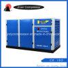 Compresor refrescado aire inmóvil del tornillo