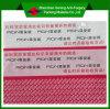 Etiqueta feita sob encomenda evidente da segurança da falsificação da impressão da calcadeira