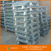 Galvanisierter zusammenklappbarer u. stapelbarer Lager-Speicher-Maschendraht-Behälter