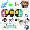 3G 1.54 ' montre colorée de traqueur des gosses GPS d'écran du contact TFT (Y20)