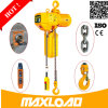 Entrega rápida e mini grua Chain elétrica segura de 1 tonelada