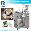 Hängende Ohr-/Tropfenfänger-Kaffee-Verpackungsmaschine mit innerem Beutel und Enveloope