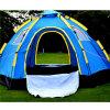 抵抗力がある二重層の冬のキャンプテント5-8人Aumomaticはキャンプグループのテントをぽんと鳴らす