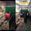 Автоматическая сталь окружности катушки связывая Binding машину для горячего завода катушки крена