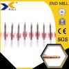 Micro scanalature del carburo di tungsteno due che scanalano i laminatoi di estremità