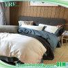 パッチワークの静かに適度で青および白い寝具