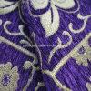 Chenilla Chenilla Color Púrpura Sofá tela para América del Sur