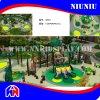 Игровая площадка на открытом воздухе Пластмассовые ограждения для детей развлечения