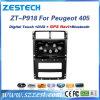 Sistema de multimédios do carro de Zestech para Peugeot 405 com GPS Bluetooth