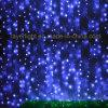 Luz ao ar livre da cortina do diodo emissor de luz das luzes de Natal da decoração