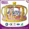 Carrusel real de la corona del paseo clásico de la diversión para los cabritos con 12 asientos