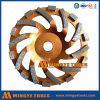 Diamant-Cup-Rad für reibenden Stein und Marmor