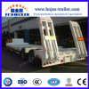 2 Wellen hydraulische ausdehnbare Lowboy Ladevorrichtung Lowbed niedriger Bett-LKW-halb Schlussteil für Verkauf