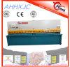 A placa hidráulica do feixe do balanço de QC12y corta a máquina chinesa das tesouras