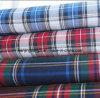 El hilado teñió la tela Peached (LZ6115) de la verificación de la tela cruzada del algodón