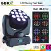 12PCS 4in1 RGBW DEL Moving Head Light