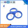 액압 실린더를 위한 파란 Dhs 유형 와이퍼의 유압 물개