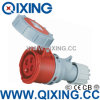 Разъем европейского стандарта Qixing женский промышленный (QX-556)