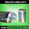 Tubo flessibile flessibile di alluminio isolato della canalizzazione