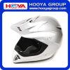 ABS Full-Face銀製のオートバイのヘルメット(AT1859)