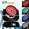이동하는 헤드 36*10W RGBW 4in1 LED 세척 급상승
