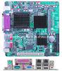 Le mini-ITX industriel à bord de la carte mère Intel Atom N270 Double LAN, 5 Support COM VGA, LVDS