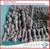 Boulons DIN933 d'IMMERSION chaude et DIN934 noix galvanisés, rondelles