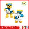 Brinquedo da mascote de Footable do luxuoso do urso da peluche