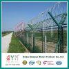 Il PVC ha ricoperto la rete fissa galvanizzata tuffata calda dell'aeroporto della rete fissa di obbligazione dell'aeroporto