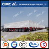 Cimc Huajun 3axle Van/Box Semi Trailer Without Cover su Top