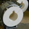 비 석면 칼슘 규산염 파이프 섹션 (650, 1000C)