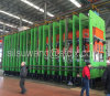 Chaîne de production de bande de conveyeur, presse de vulcanisation de bande de conveyeur