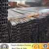 pipe en acier recuite noire de place de fer de 100X100mm/4  X4
