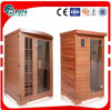 Home Using Outdoor Wood Infrared Sauna and Steam Combined Room