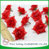 Mini Flores artificiales Rose cabeza bricolaje decoración de boda