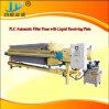 Placa hidráulica e estrutura da prensa-filtro para a cidade de esgoto bruto mistos (ÁGUAS RESIDUAIS URBANAS)