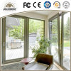 Fabrik-preiswertes Preis-Fiberglas-Plastikneigung-und Drehung-Tür der niedrigen Kosten-2017 mit Gitter-Inneren für Verkauf