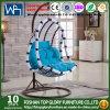 Asiento de mimbre Tgsr-001 del oscilación del patio de la silla del oscilación del ocio