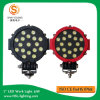 Het goedkope 7 LEIDENE van de Duim 51W Werk Lichte IP67 Super Heldere 6000K voor Klantgerichte Vrachtwagens