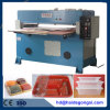 Guantes de cuero que cortan la máquina con tintas