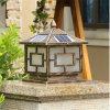 屋外の庭のLEDの装飾的なランプのための太陽柱ライト