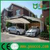 Duradero Aluminuim personalizada Carprots marquesinas con techo de policarbonato