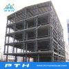 Amplia gama personalizada de almacén de la estructura de acero de varios pisos