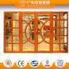 Finestra di alluminio della stoffa per tendine del grano superiore di stile cinese