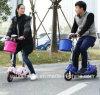 Precio competitivo de equilibrio de plástico de los niños en bicicleta de plástico llena de suciedad empujar 1 Mini piezas plegable con asiento Scooter