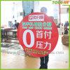 Окно деловых обедов табличка, наклейка для рекламы (TJ-CT-25)